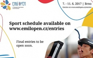 Sport schedule for Emil Open is here!