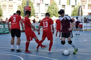 Representation in U21 minifootball learned from the blind