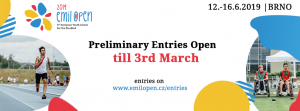 Emil Open 2019 - First Entries Open!
